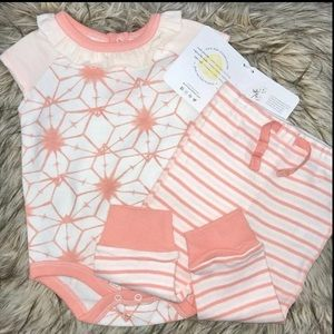 Burt's Bees Baby Outfit